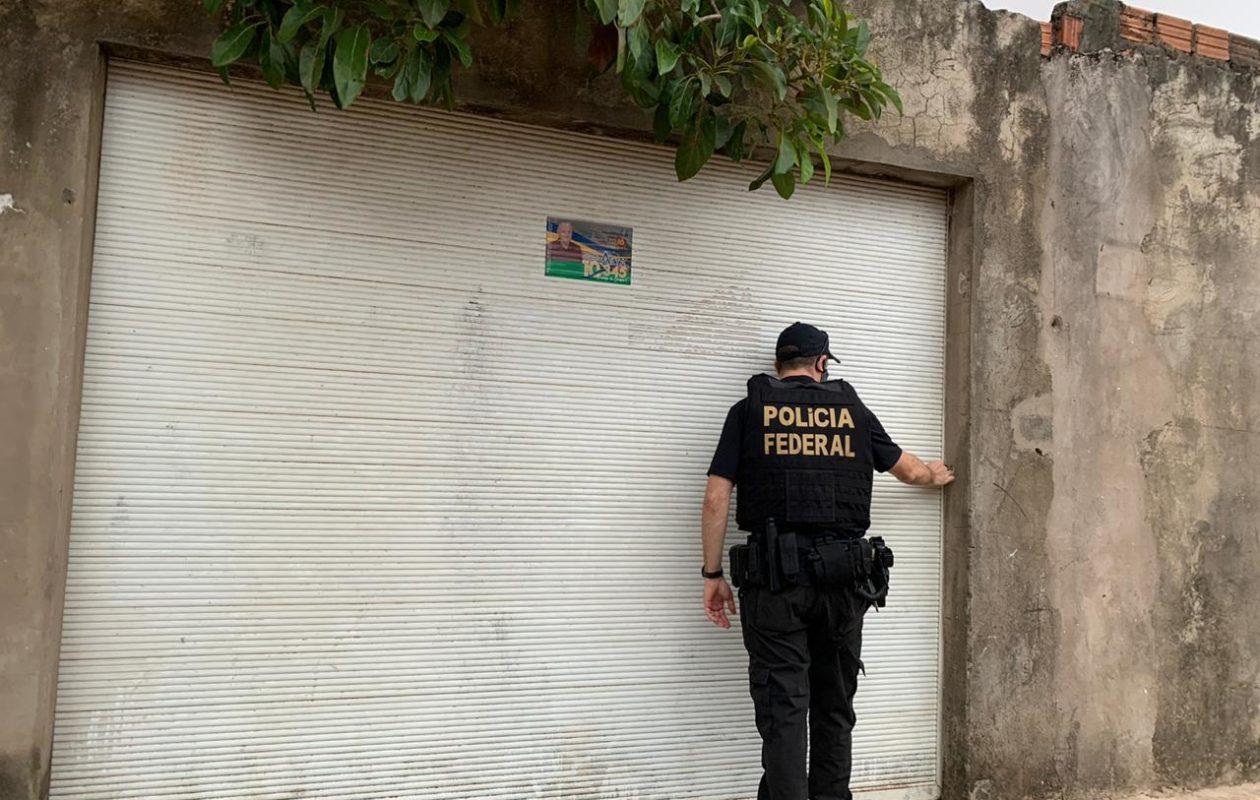 PF faz operação em São José de Ribamar contra corrupção eleitoral