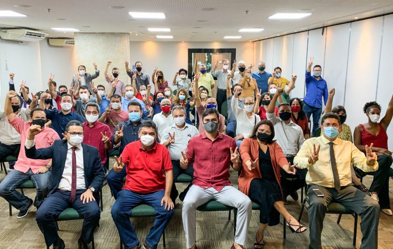 A 11 dias da eleição, secretários do governo Dino entram abertamente na campanha de Rubens Júnior