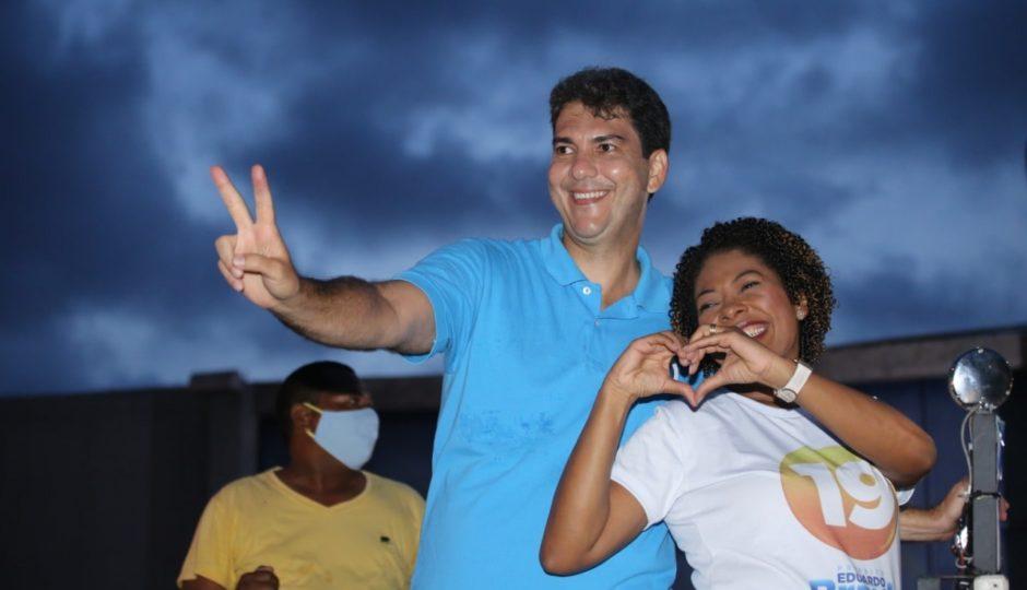 Braide não fala nas redes sobre a vice-prefeita eleita, Esmênia Miranda, desde a vitória nas urnas