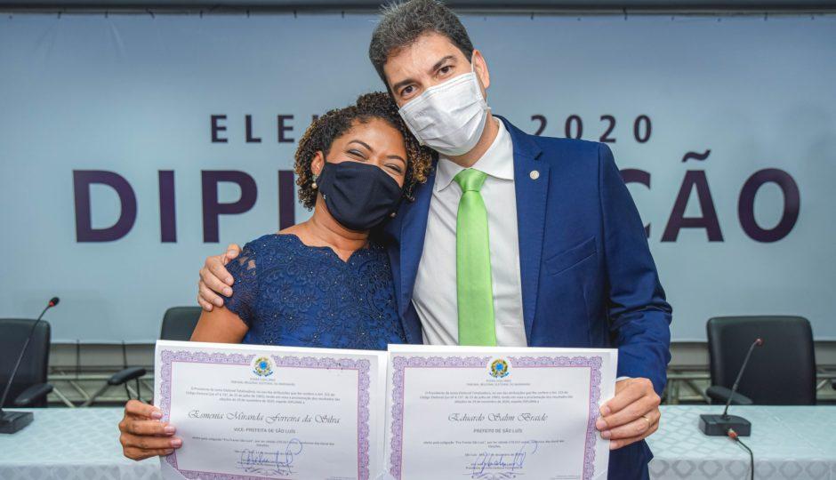 Braide estuda colocar Esmênia, sua vice, na Educação de São Luís