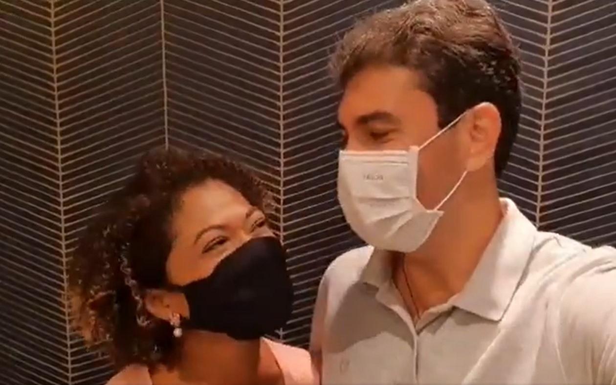 Braide grava vídeo com Esmênia, duas semanas após deixar de falar nas redes sobre vice-prefeita eleita