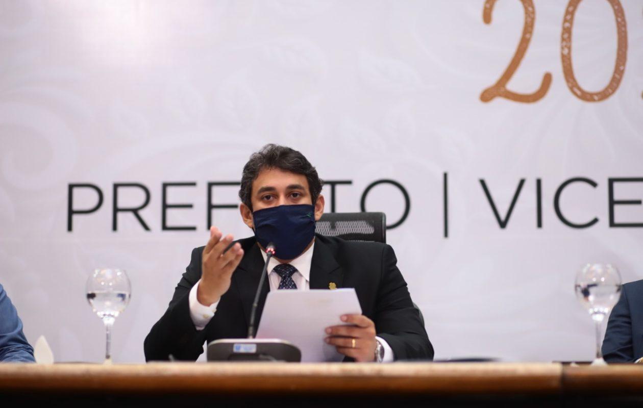 Aliado de Eduardo Braide, Osmar Filho é reeleito presidente da Câmara de São Luís