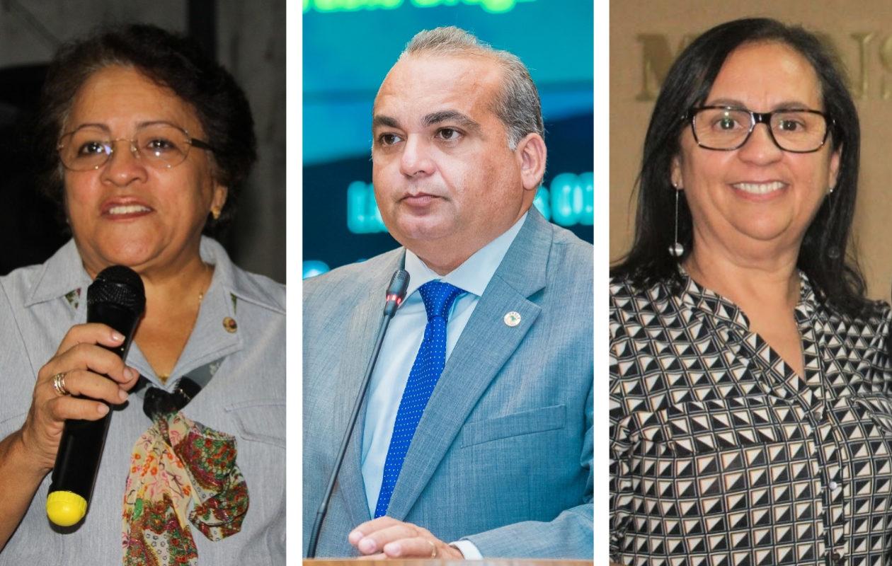 Com posse de prefeitos, três suplentes assumem mandato na Alema