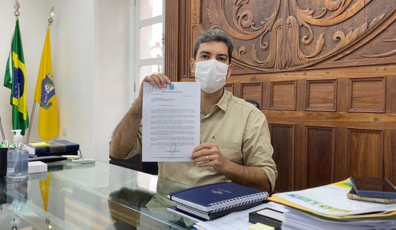Câmara autoriza Braide a comprar vacinas contra Covid-19 direto com laboratórios