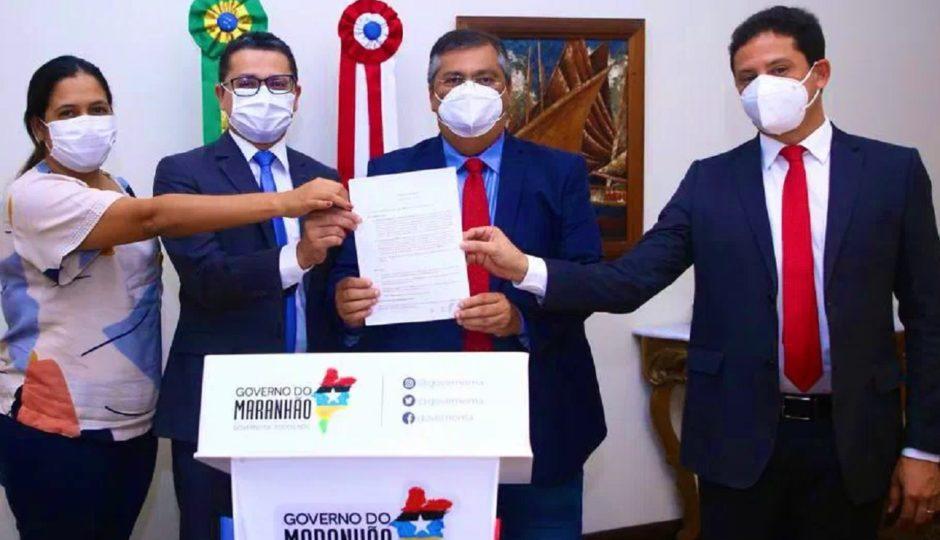 Flávio Dino acerta compra de 4,5 milhões de doses da vacina russa Sputnik V