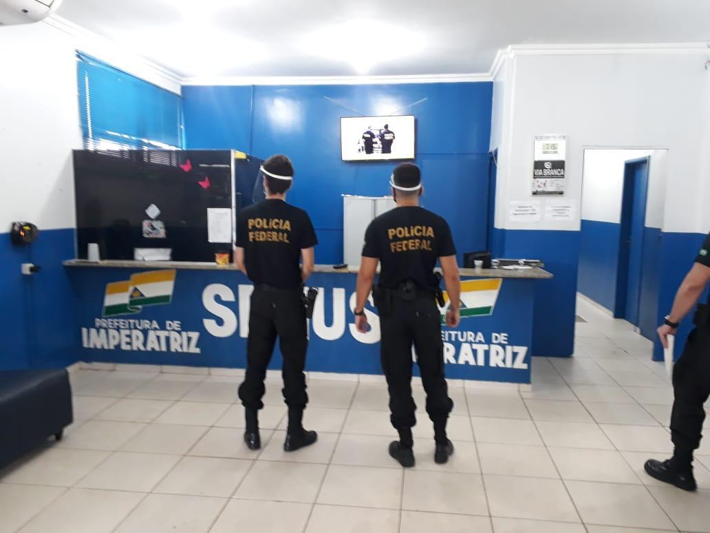 PF faz buscas em Imperatriz em operação contra gestão Assis Ramos