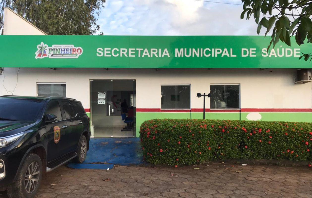 PF mira gestão Luciano Genésio e faz buscas em Pinheiro contra desvio de recursos da Covid-19