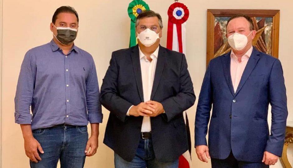 Após reunião com Dino e Brandão sobre 2022, Weverton diz que vai continuar trabalhando no Senado