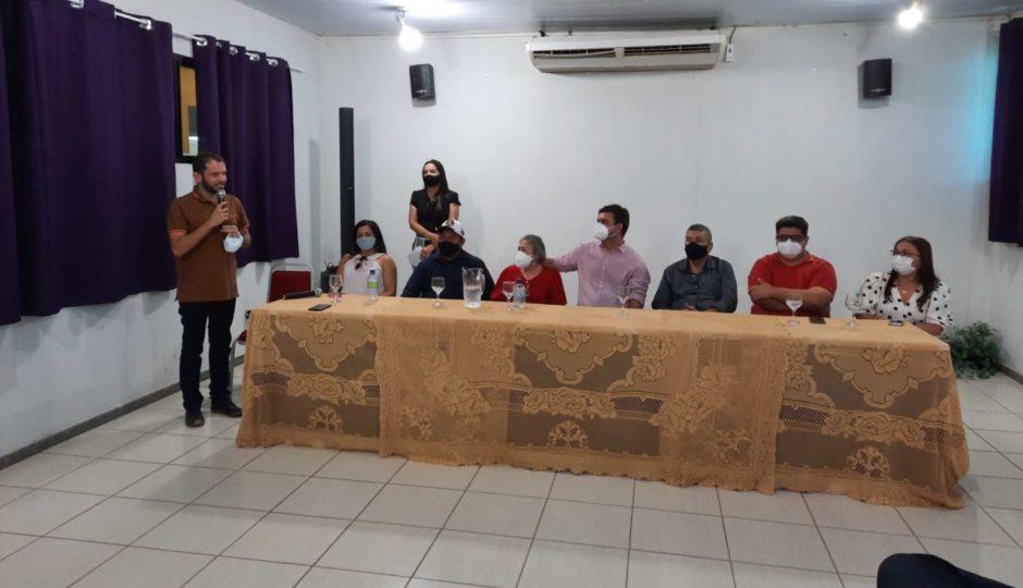 Evento da Secap vira ato eleitoral de apoio a Dino e Weverton