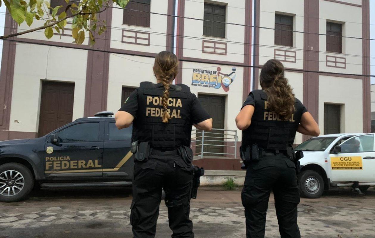 PF faz buscas em investigação contra desvio de verbas da Covid-19 em Brejo
