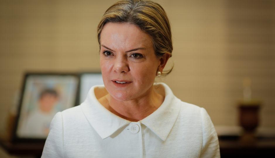 PT não tem nada decidido e encaminhado no Maranhão, diz Gleisi Hoffmann