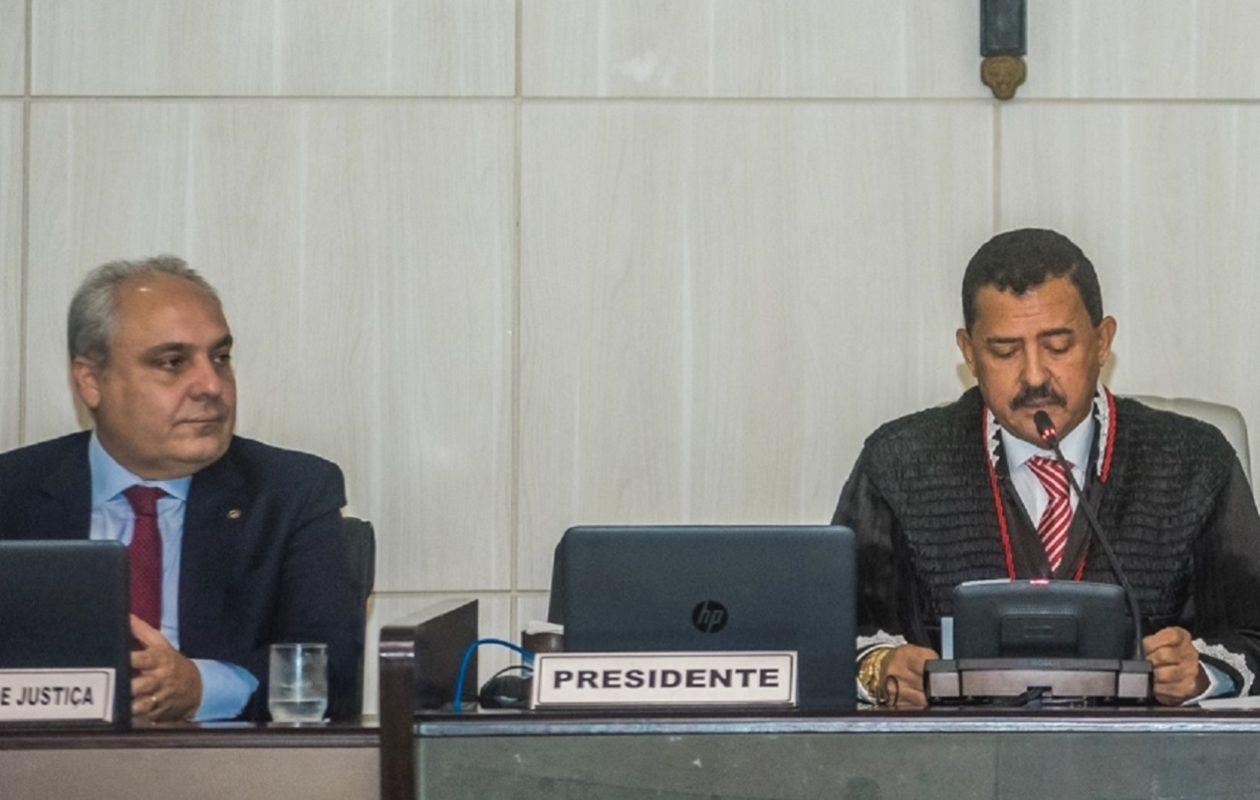 Joaquim Figueiredo, do TJ, nega liminar contra decreto que garantiu vaga no TCE apenas para Marcelo Tavares